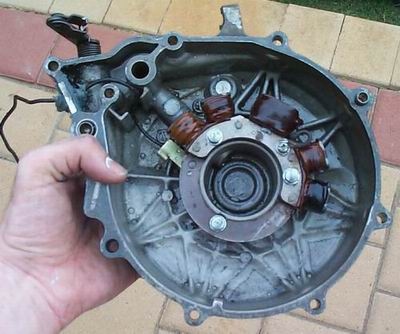 how to repair motorcycle stator