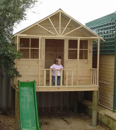Cubby house diy plans